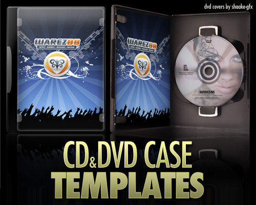 cd dvd case 60 High Quality Photoshop PSD Files For Designers