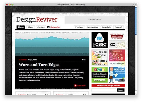 designreviver 100 Nice and Beautiful Blog Designs