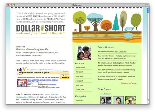 dollarshort 100 Nice and Beautiful Blog Designs