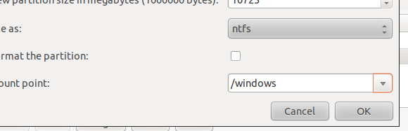 dual boot windows linux