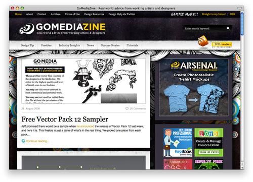 gomediazine 100 Nice and Beautiful Blog Designs