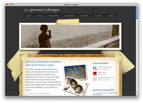 grantmx 100 Nice and Beautiful Blog Designs