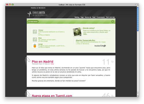icebeat 100 Nice and Beautiful Blog Designs