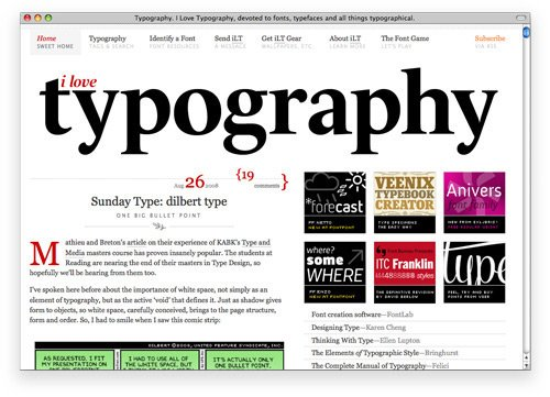 ilovetypo 100 Nice and Beautiful Blog Designs