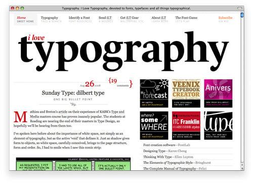 ilovetypo 100 Nice and Beautiful Blog Designs