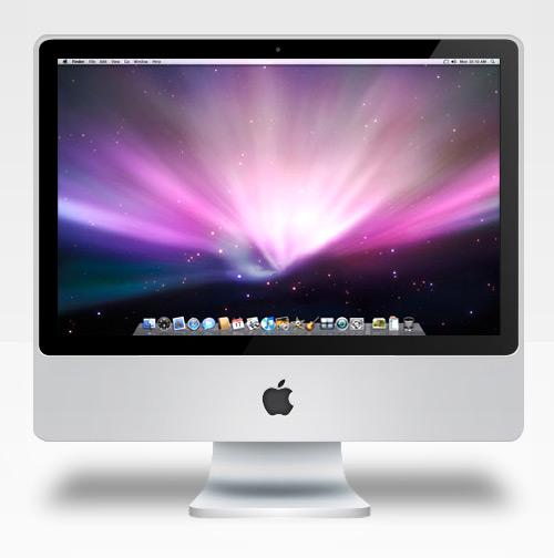 imac 60 High Quality Photoshop PSD Files For Designers
