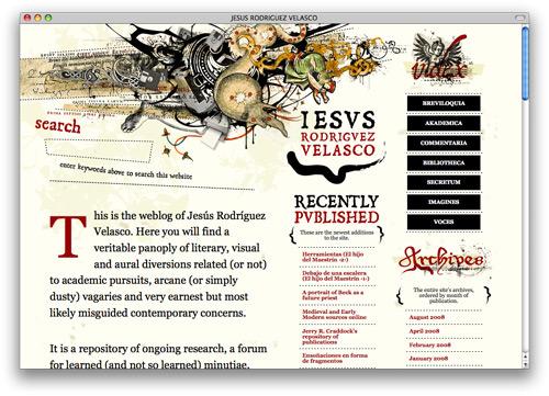 jesus 100 Nice and Beautiful Blog Designs