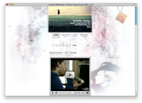 kohette 100 Nice and Beautiful Blog Designs