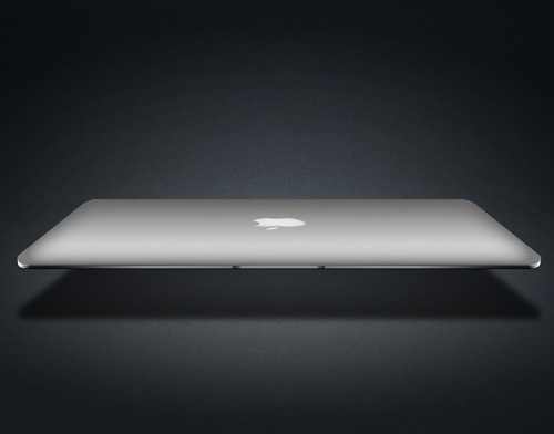 macbook air 60 High Quality Photoshop PSD Files For Designers