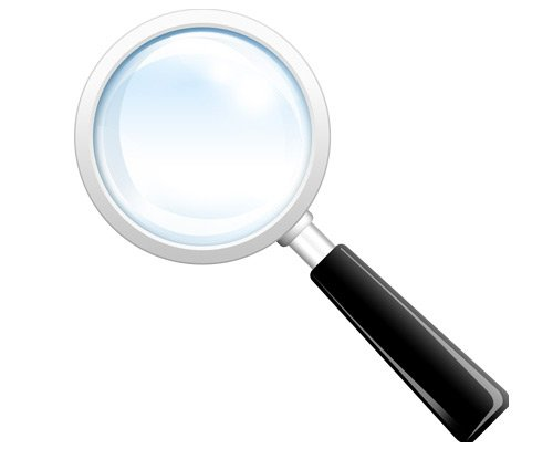 magnifying glass 60 High Quality Photoshop PSD Files For Designers