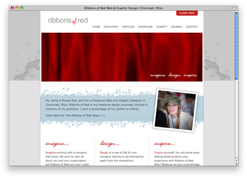 ribbons 100 Nice and Beautiful Blog Designs