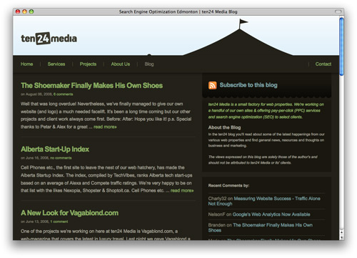 searchengine 100 Nice and Beautiful Blog Designs