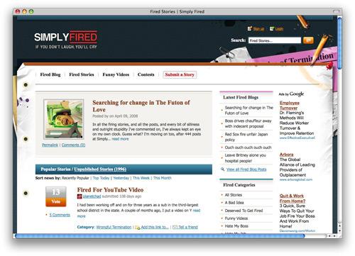 simplyfired 100 Nice and Beautiful Blog Designs