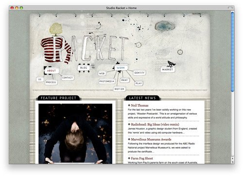 studioracket 100 Nice and Beautiful Blog Designs