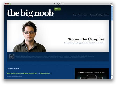 thebignoob 100 Nice and Beautiful Blog Designs