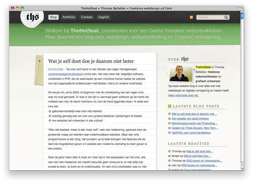 thehotseat 100 Nice and Beautiful Blog Designs