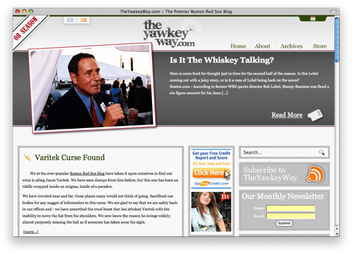 theyawkeyway 100 Nice and Beautiful Blog Designs