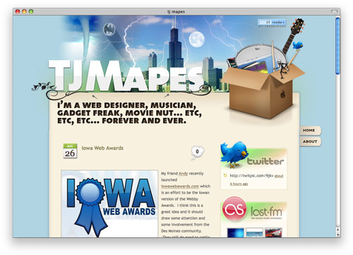 tjmapes 100 Nice and Beautiful Blog Designs