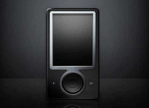 zune 60 High Quality Photoshop PSD Files For Designers