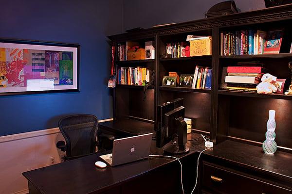 apple samsung office Inspirational Workspace: 60 Awesome Setups