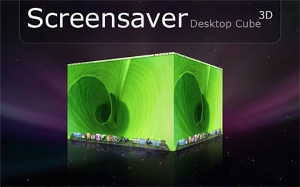 cube3 65+ Most Popular Screen Savers in 2011