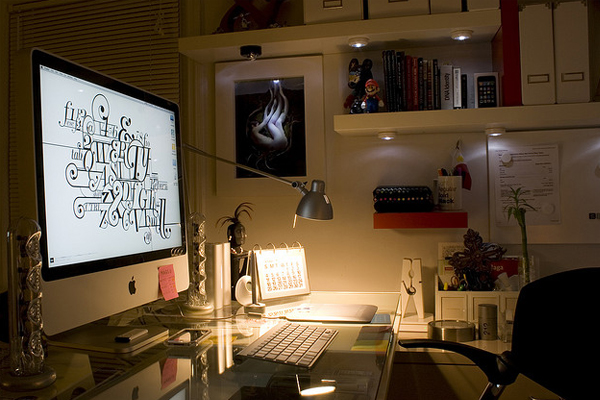 designer desktop workspace Inspirational Workspace: 60 Awesome Setups