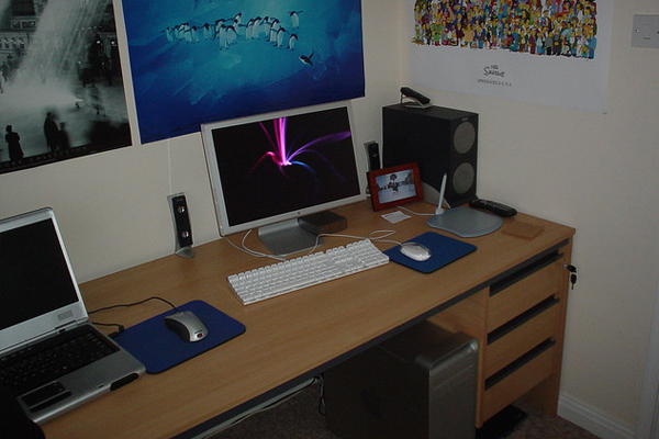 home alienware mac Inspirational Workspace: 60 Awesome Setups