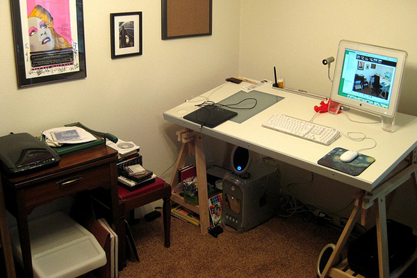 mac illustration workspace Inspirational Workspace: 60 Awesome Setups