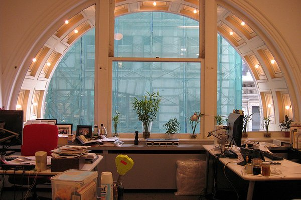 nyc office window arch Inspirational Workspace: 60 Awesome Setups