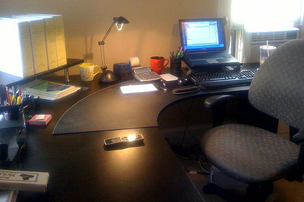 professional home office setup Inspirational Workspace: 60 Awesome Setups
