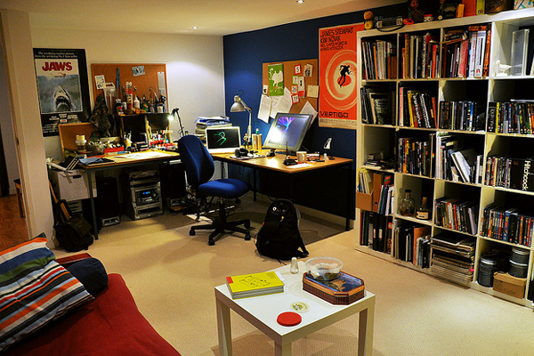 working home studio Inspirational Workspace: 60 Awesome Setups
