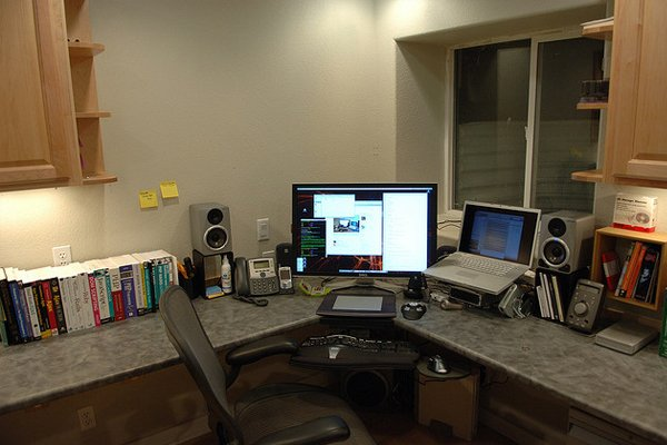 workstation part deux Inspirational Workspace: 60 Awesome Setups