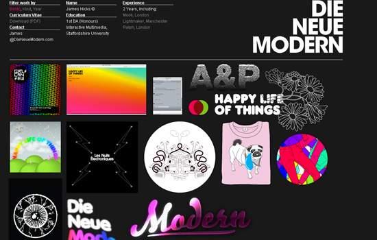 Die Neue Modern screenshot.