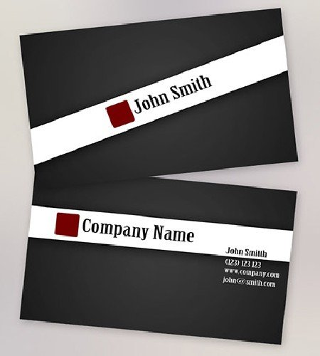 Top 50+ Free Business Card Templates in PSD and JPEG Format