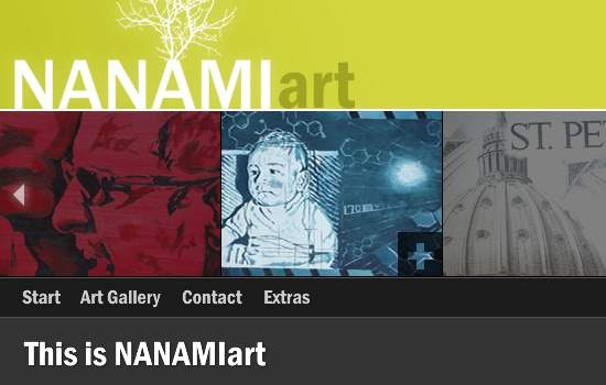 NANAMIart screen shot.