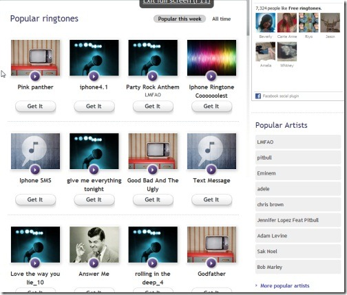 where can i download free ringtones