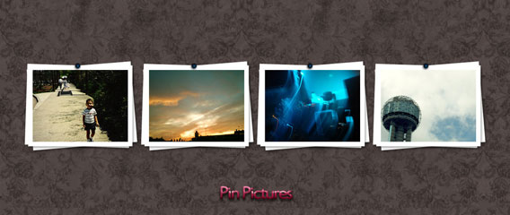 Pin Pictures PSD file