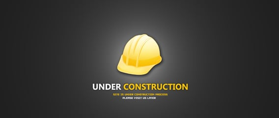 Under construction PSD file