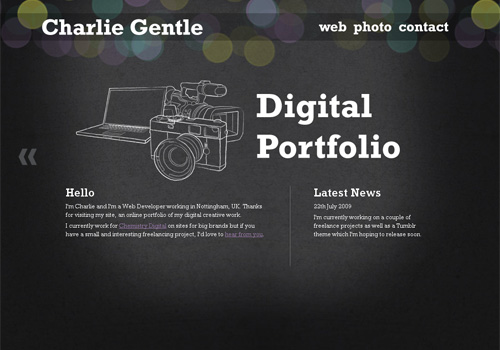 150 attractive inspirational and creative portfolio websites savedelete