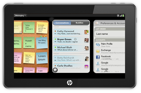 hp slate webos3 Ultimate Guide to Tablets