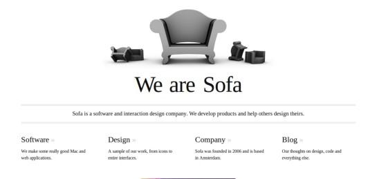 madebysofa Showcase Of Beautiful Black And White Websites