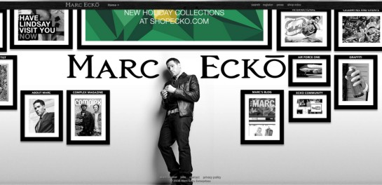 marcecko Showcase Of Beautiful Black And White Websites