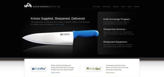 mastergrinding Showcase Of Beautiful Black And White Websites
