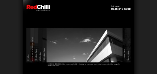 redchilli Showcase Of Beautiful Black And White Websites