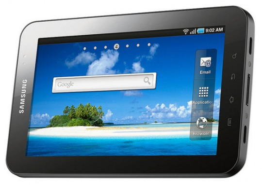 samsung galaxy tab 7 inch android 2.2 os based tablet 540x383 5209665 Ultimate Guide to Tablets