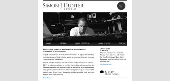 sjhunter Showcase Of Beautiful Black And White Websites