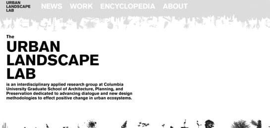 urbanlandscapelab Showcase Of Beautiful Black And White Websites