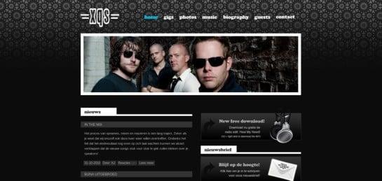 xqsband Showcase Of Beautiful Black And White Websites