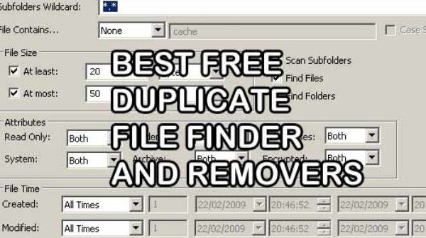Best Free Duplicate File Finder and Removers