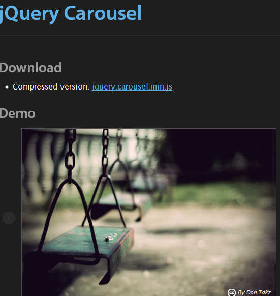 jQuery Carousel Sliders